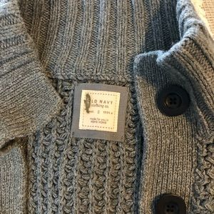Old Navy Sweaters - EUC adorable belted Old Navy cardigan